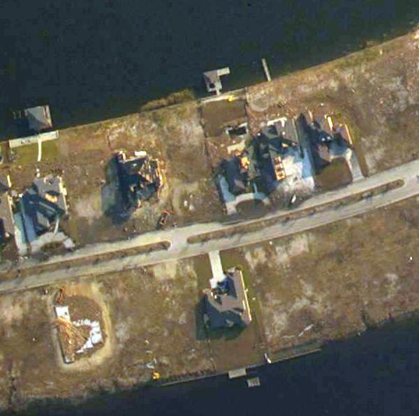 Our Home after Katrina - bottom center